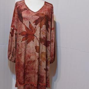 "One World ""Charming Art"" Dress XL"
